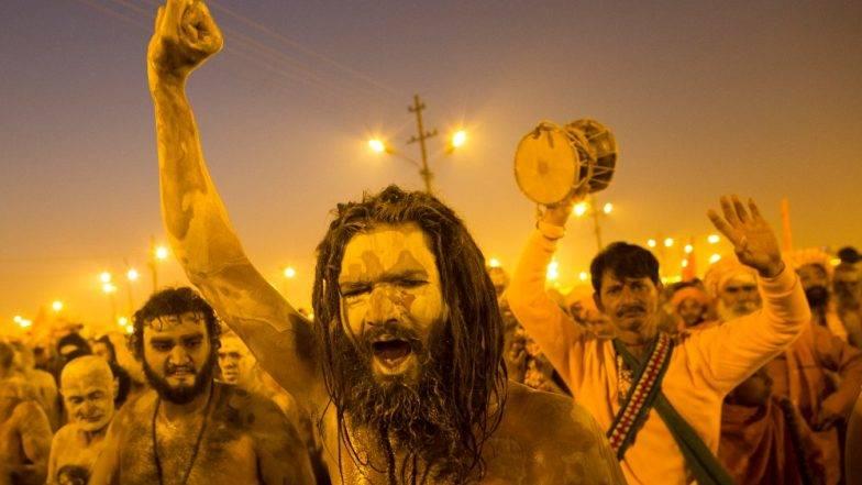 Celebrations at Kumbh Mela 2019